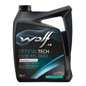 WOLF OFFICIALTECH 0W30 MS-BHDI 5 Lt.
