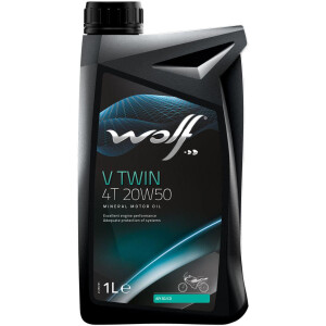 WOLF V TWIN 4T 20W50 1 Lt.